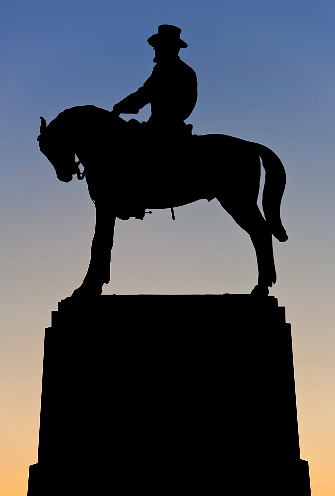 Howard statue at Gettysburg National Military Park