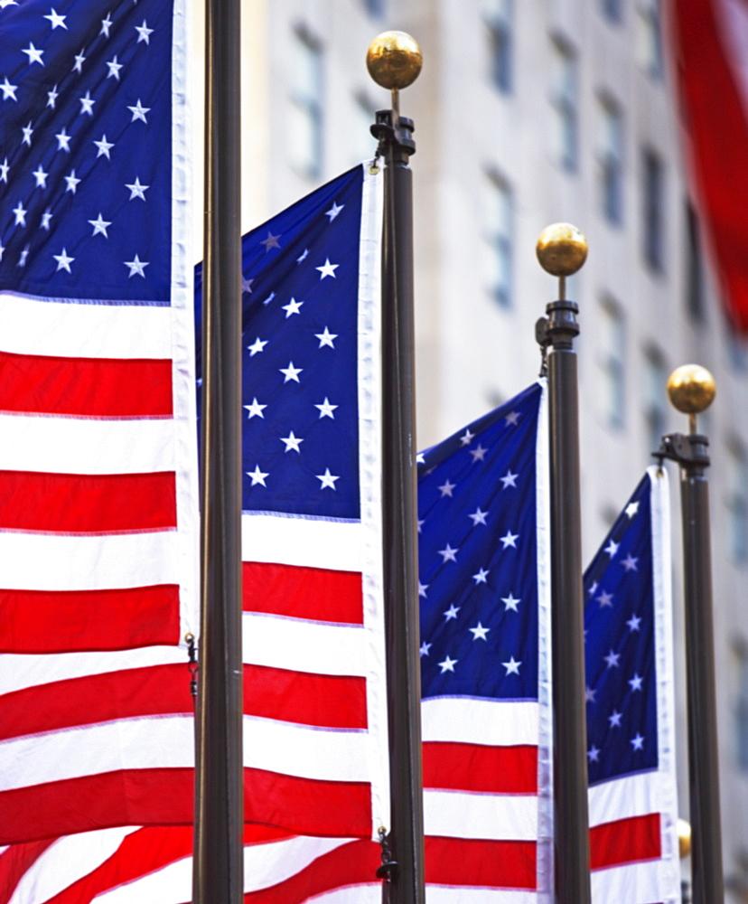 American flag - 1178-19128