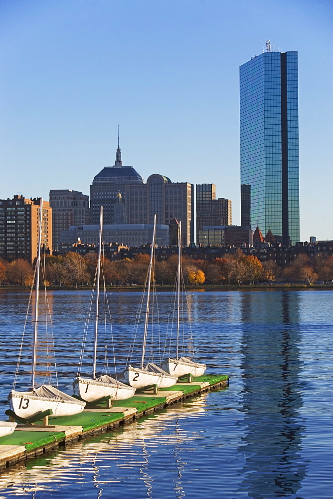 USA, Massachusetts, Boston skyline