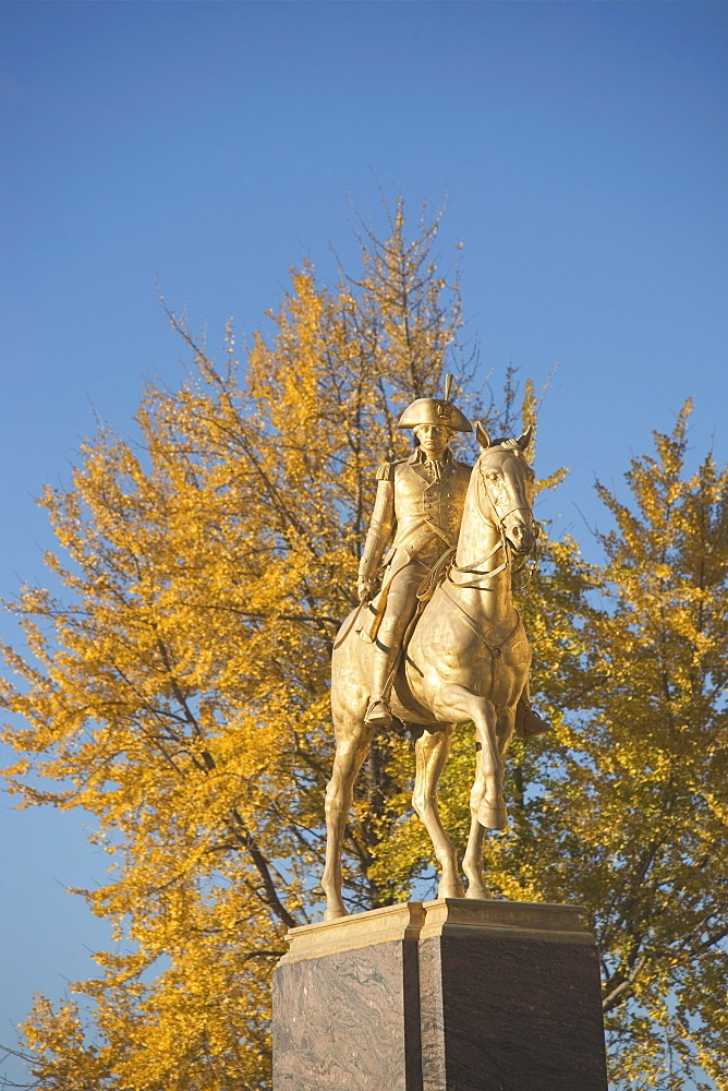 USA, Pennsylvania, Philadelphia, statue