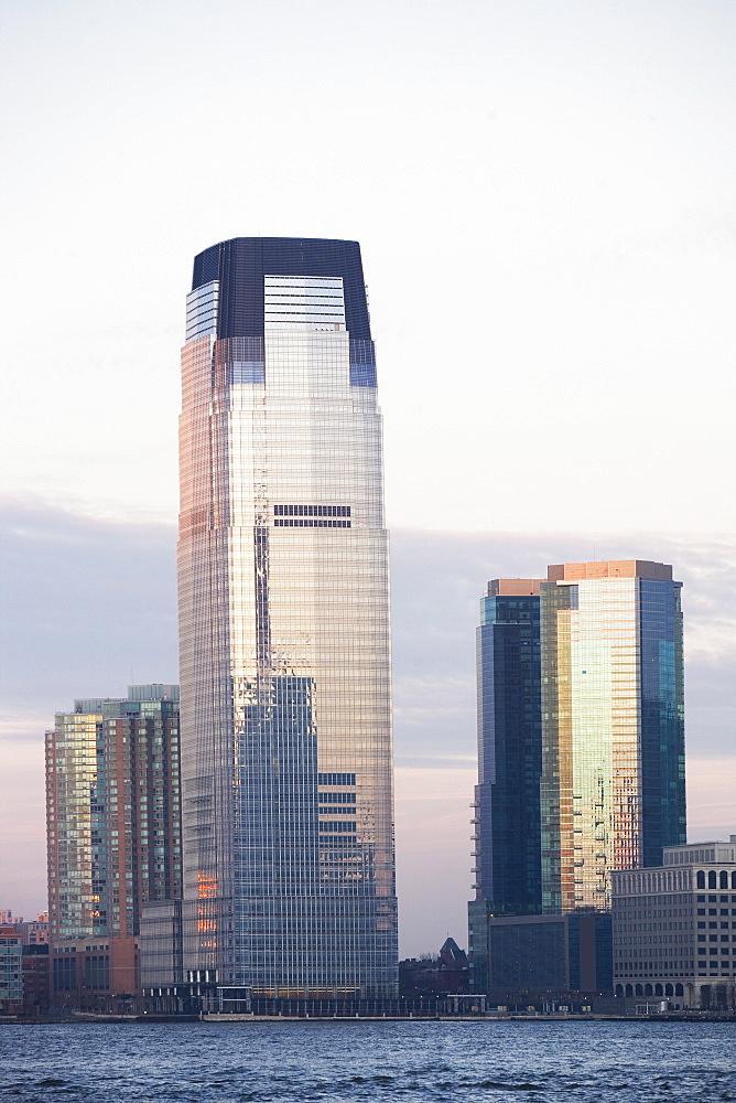 USA, New Jersey, Jersey City, skyscraper