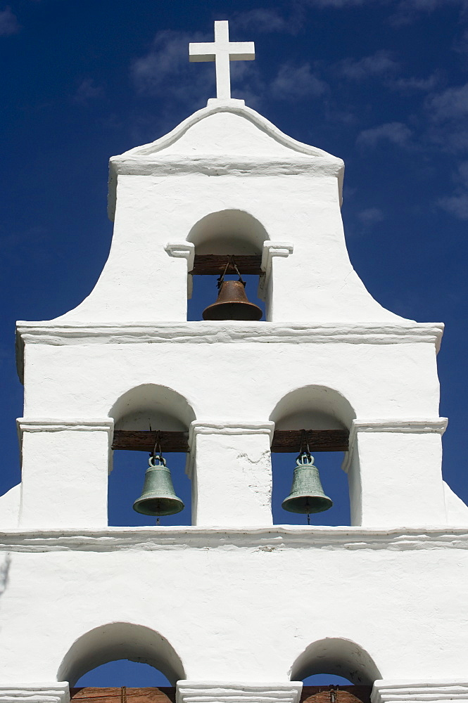 Church bells, Mission San Diego de Alcala, San Diego, California, United States