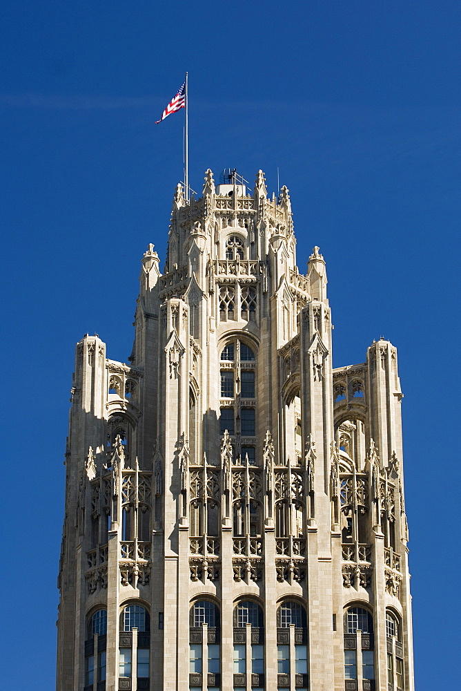 Tribune Tower Chicago Illinois USA