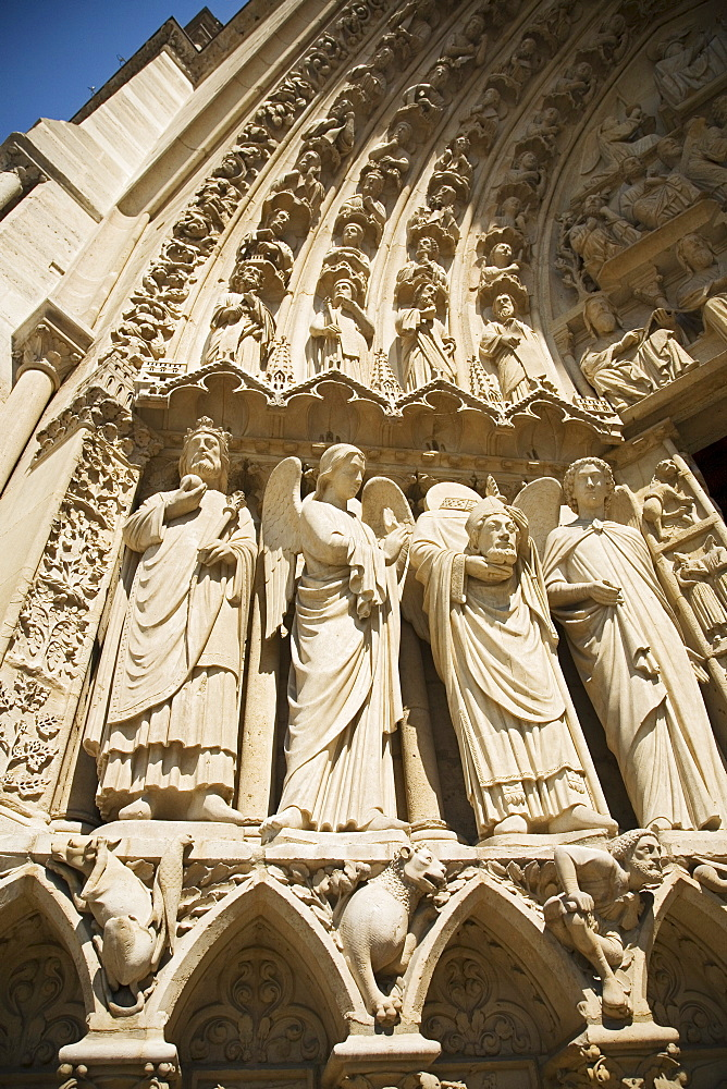 Architectural detail on cathedral