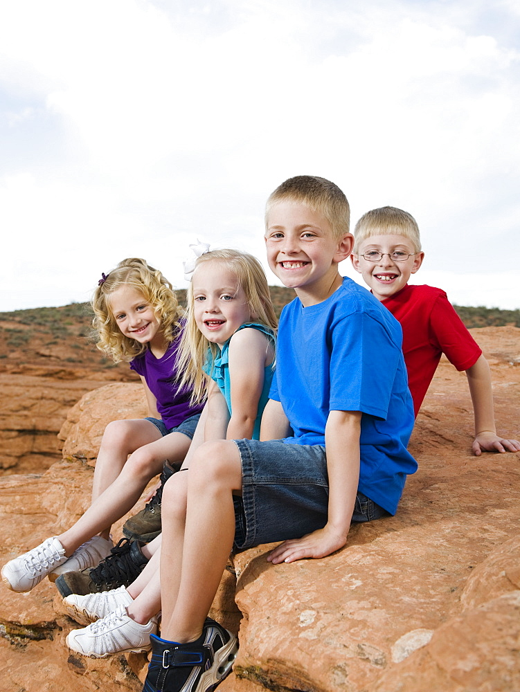 Kids at Red Rock
