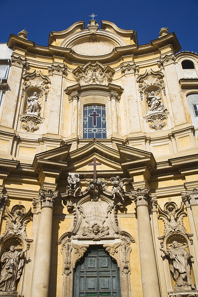 Facade of the Church of Santa Maria Maddalena
