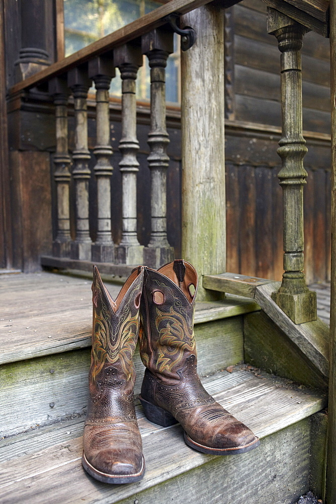 Pair of cowboy boots, Phoenix, Arizona