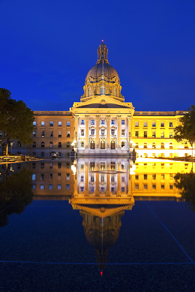 Legislative Building, Edmonton, Canada