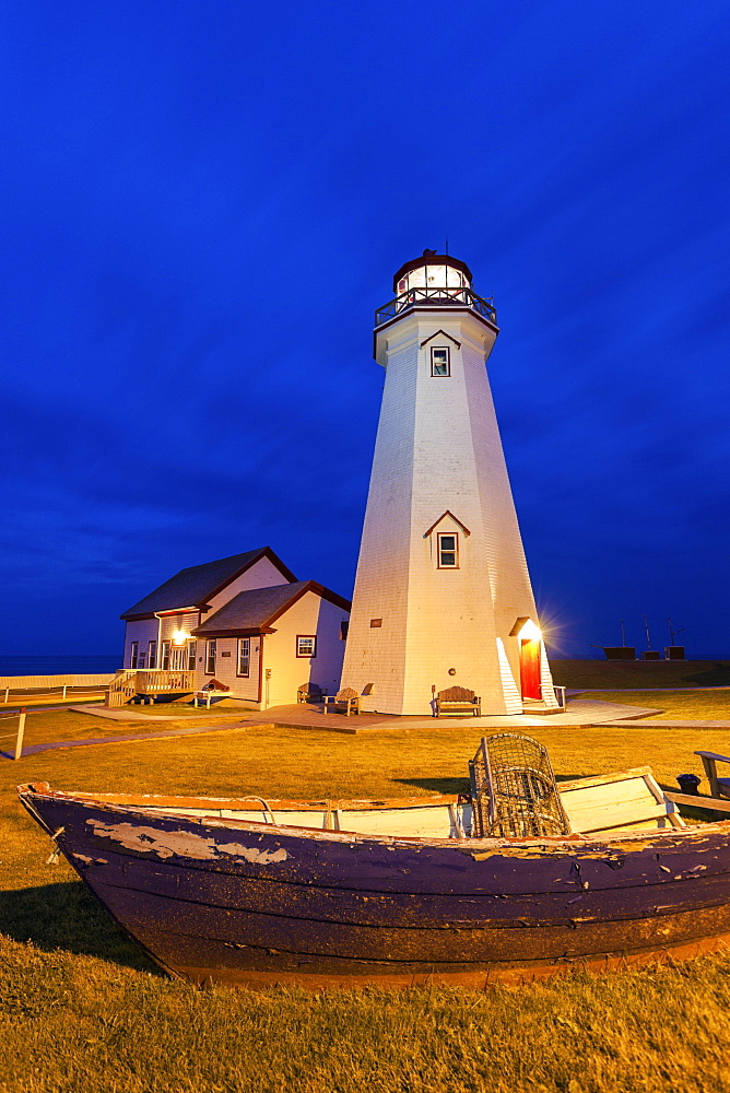 East Point Lighthouse, Prince Edward Island, Canada
