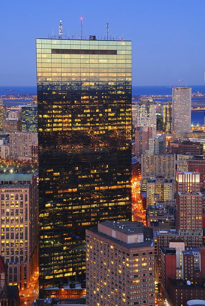 Office building g facade, Boston, Massachusetts