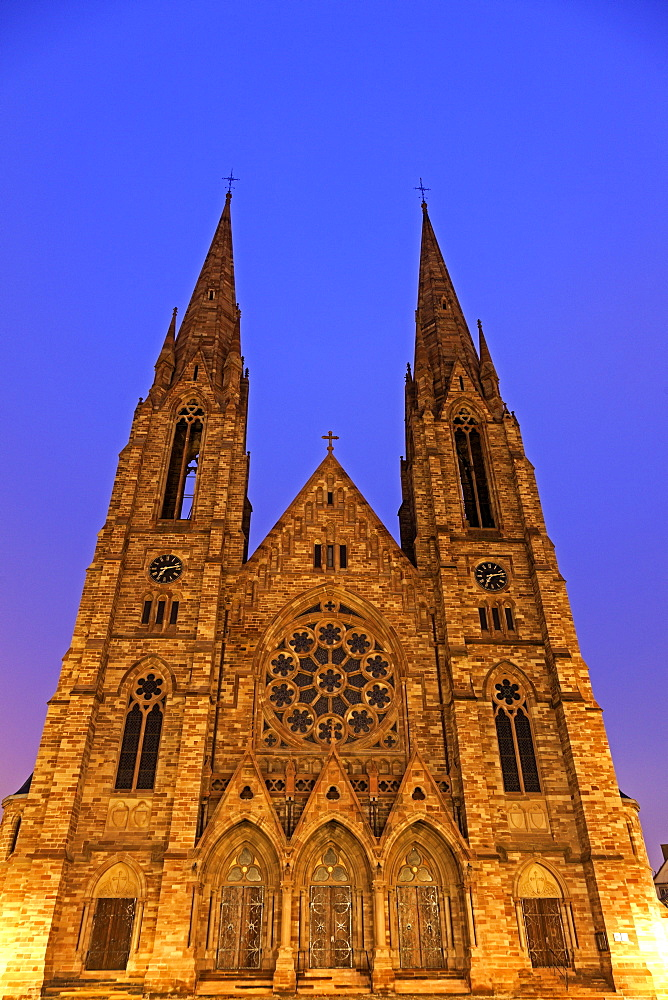 St Paul's church, France, Alsace, Strasbourg, St Paul's church