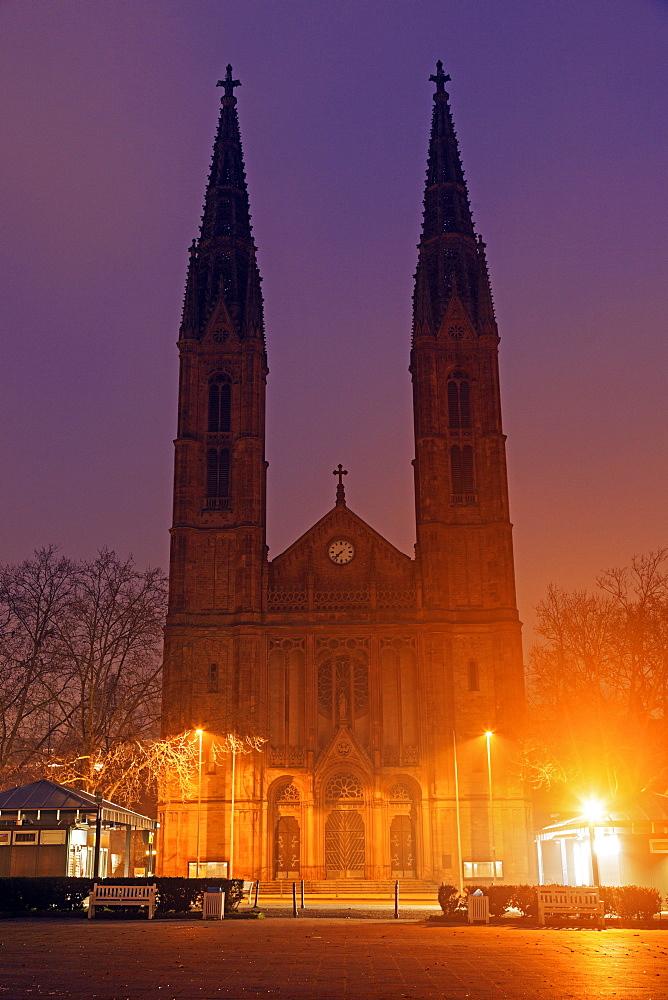 St. Boniface Church, Germany, Hesse, St. Boniface Church. Wiesbaden