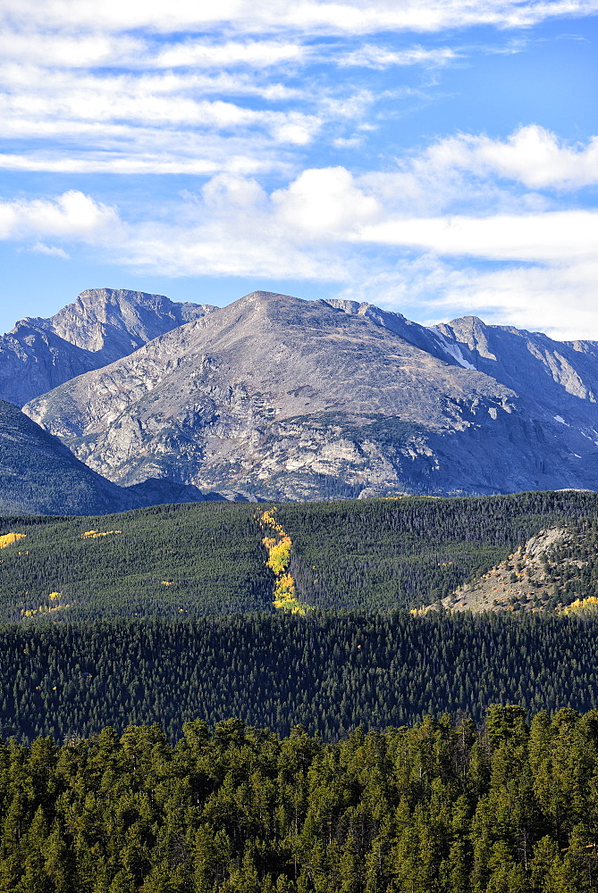 USA, Colorado, Scenic view of Rocky Mountain National Park