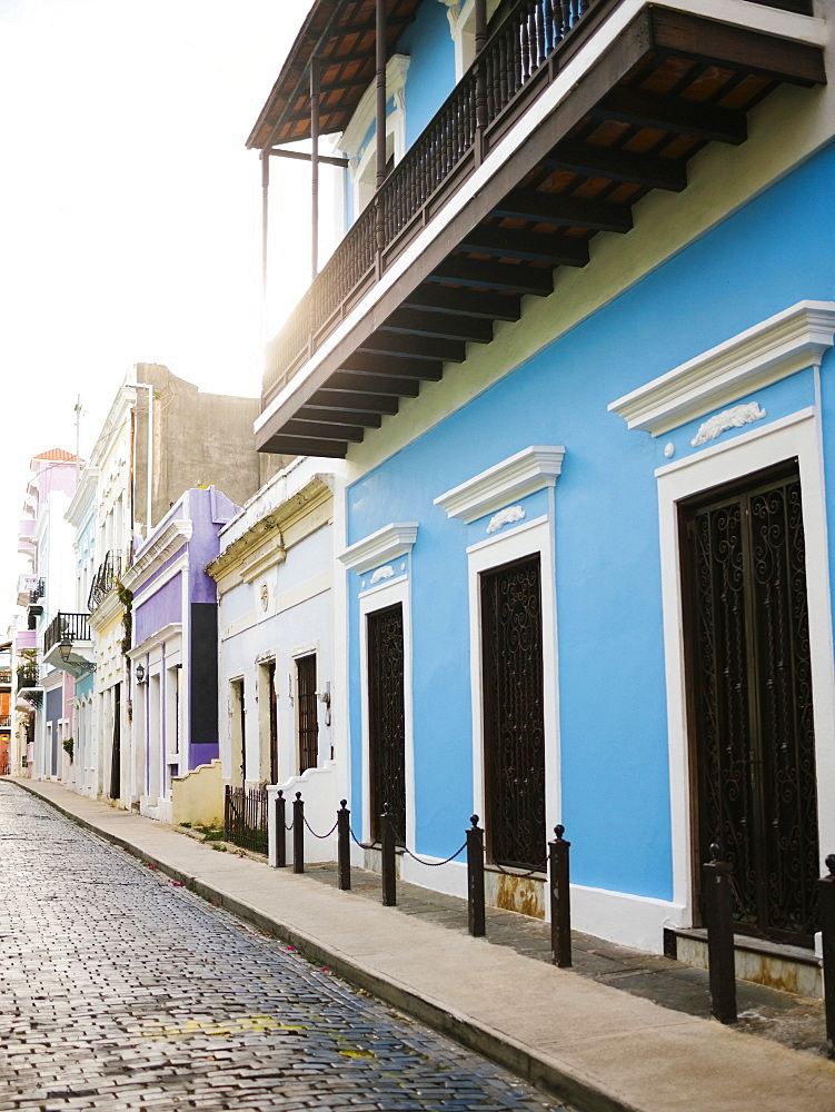 Puerto Rico, San Juan, Narrow streets of old town