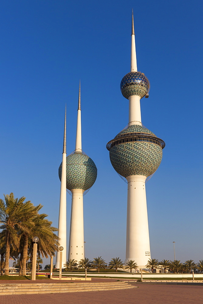 Kuwait Towers in Kuwait