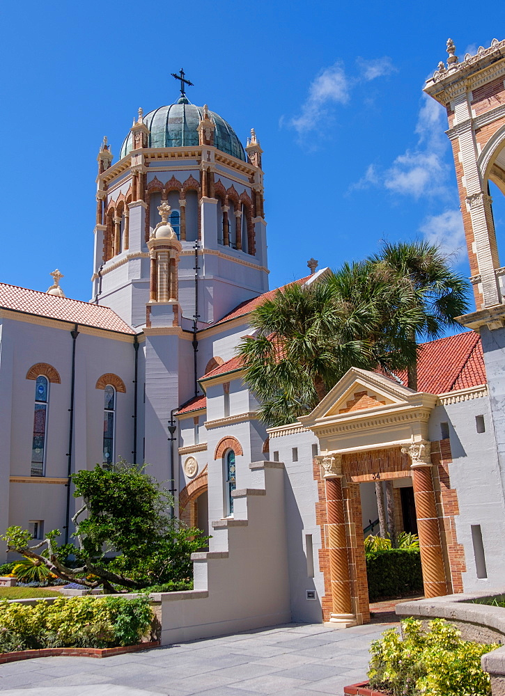 Memorial Presbyterian Church in St. Augustine, USA