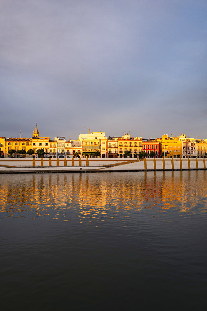 City skyline with Guadalquivir river in Seville, Spain - 1178-28266