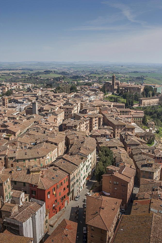 Cityscape in Tuscany, Italy
