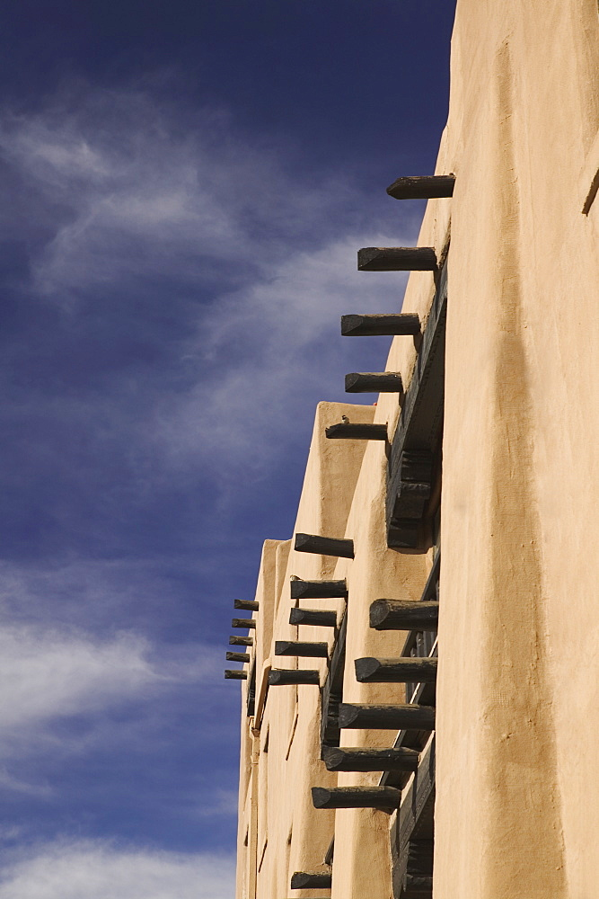 Adobe building in Santa Fe, New Mexico
