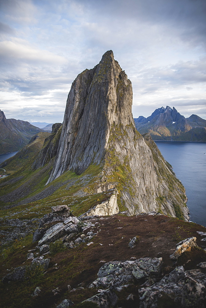 Norway, Senja, Scenic view of Segla mountain