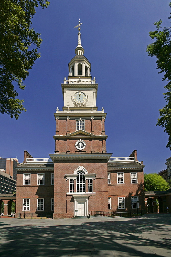 Independence Hall in Philadelphia PA