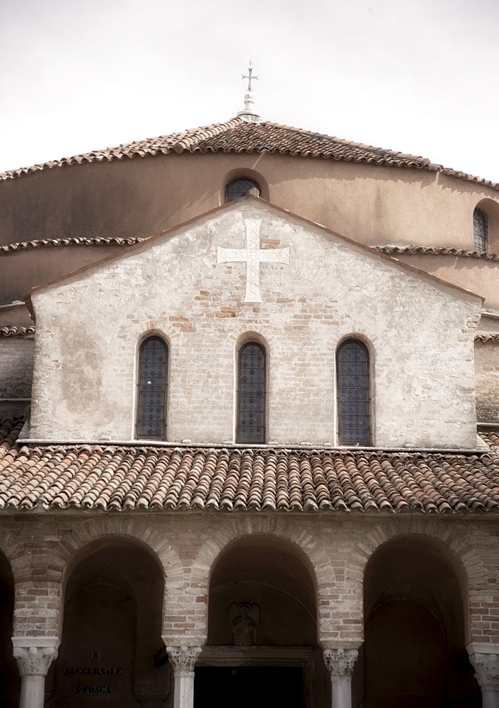 11th century Church of Santa Fosca near Venice Torcello Italy