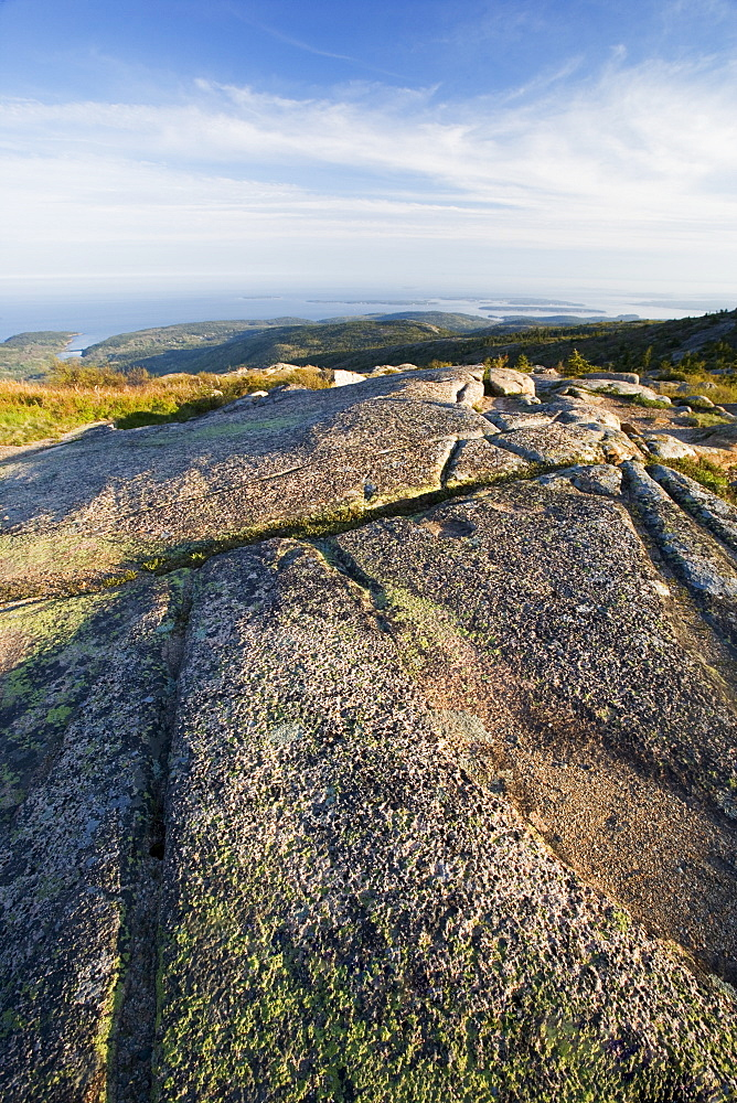 View from Cadillac Mountain Acadia Maine