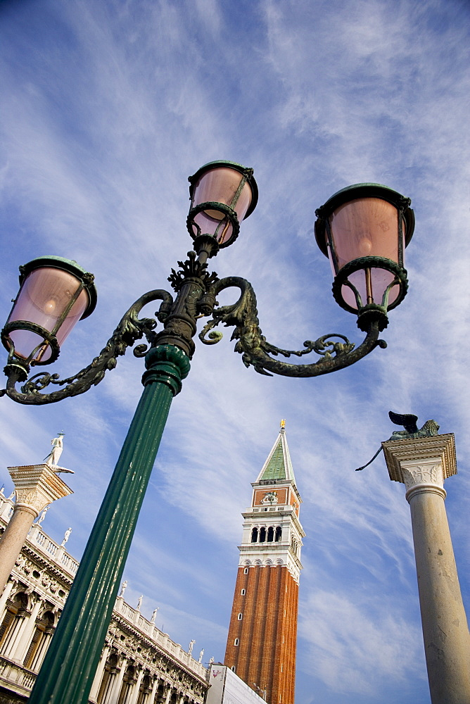 Campanile in the Piazza San Marco Venice Italy