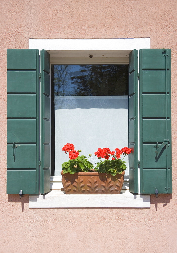 Window box Torcello Italy