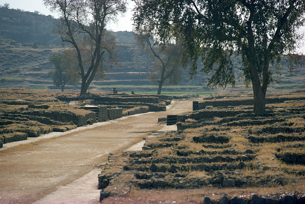 Sirkap, Taxila, UNESCO World Heritage Site, Punjab, Pakistan, Asia