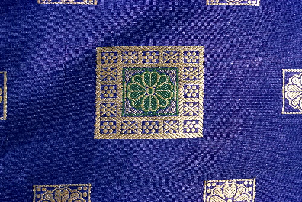Sari material, Karachi, Pakistan, Asia