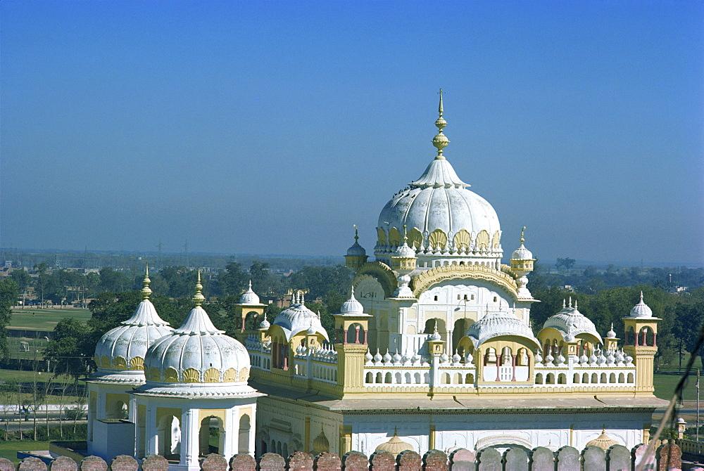 Samadhi (shrine) of Ranjit Singh, Lahore, Pakistan, Asia