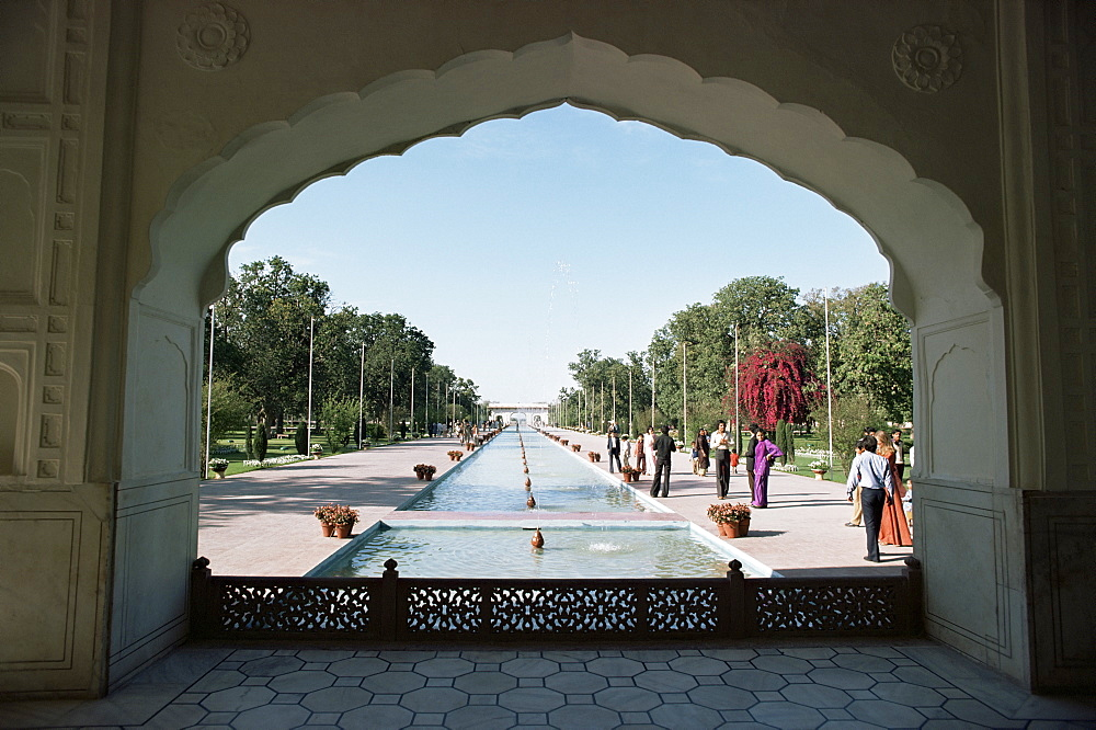 Shalimar Gardens, UNESCO World Heritage Site, Lahore, Punjab, Pakistan, Asia