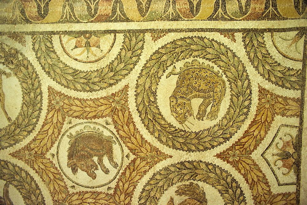 Mosaics at Bardo Museum, Tunis, Tunisia, North Africa, Africa