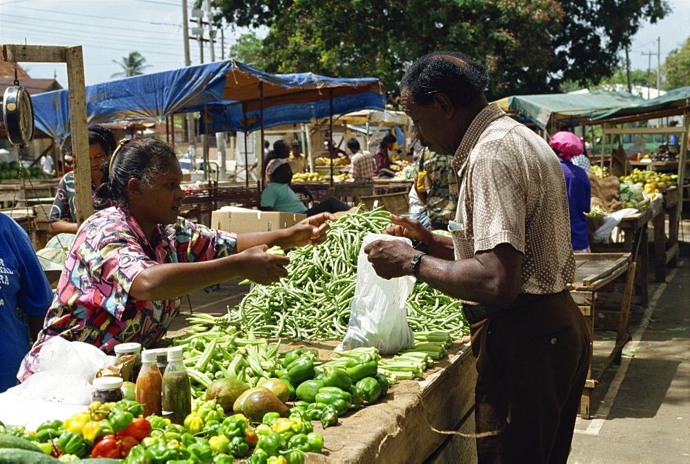 Market, Arima, Trinidad, West Indies, Caribbean, Central America - 1-33115
