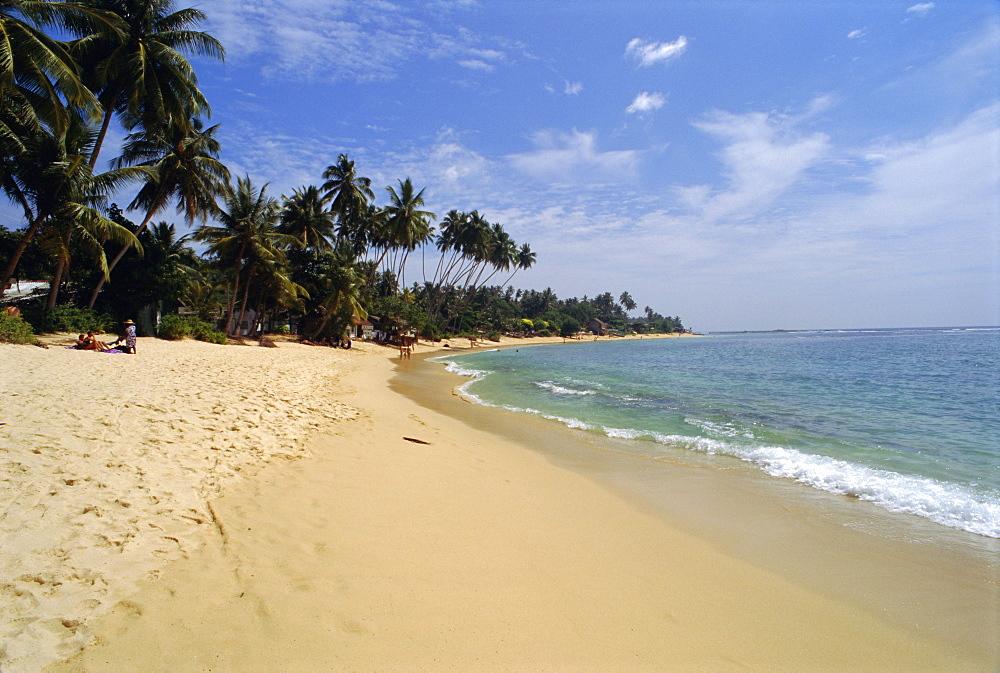 South coast beach near Galle, Sri Lanka