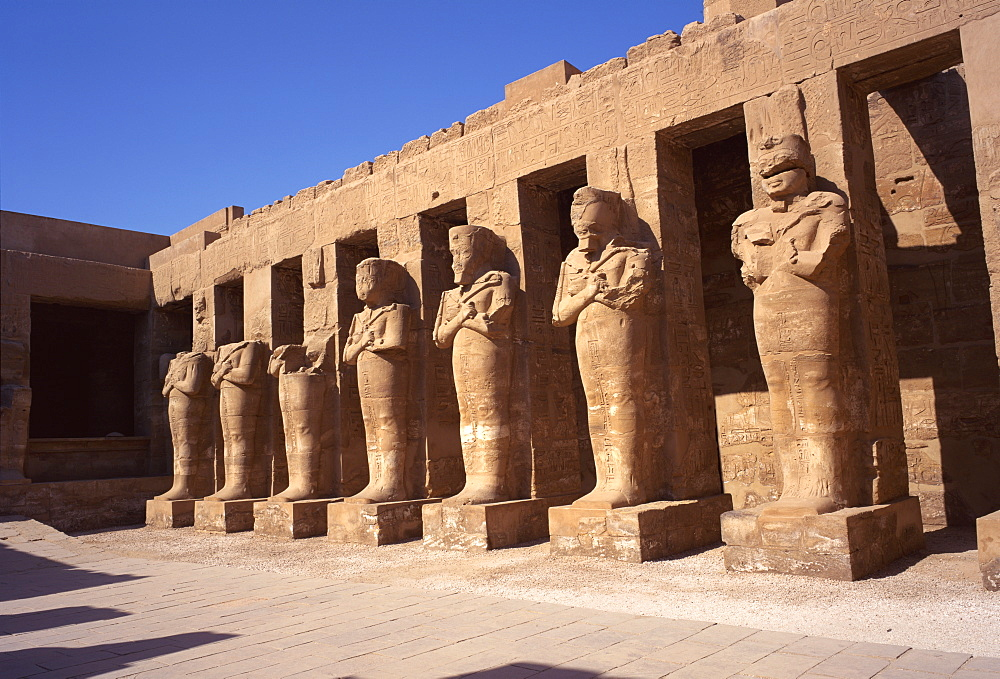 Temple of Karnak, Thebes, UNESCO World Heritage Site, Egypt, North Africa, Africa
