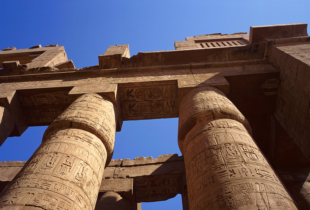 Temple of Karnak, Thebes, UNESCO World Heritage Site, Egypt, North Africa, Africa - 1-38843