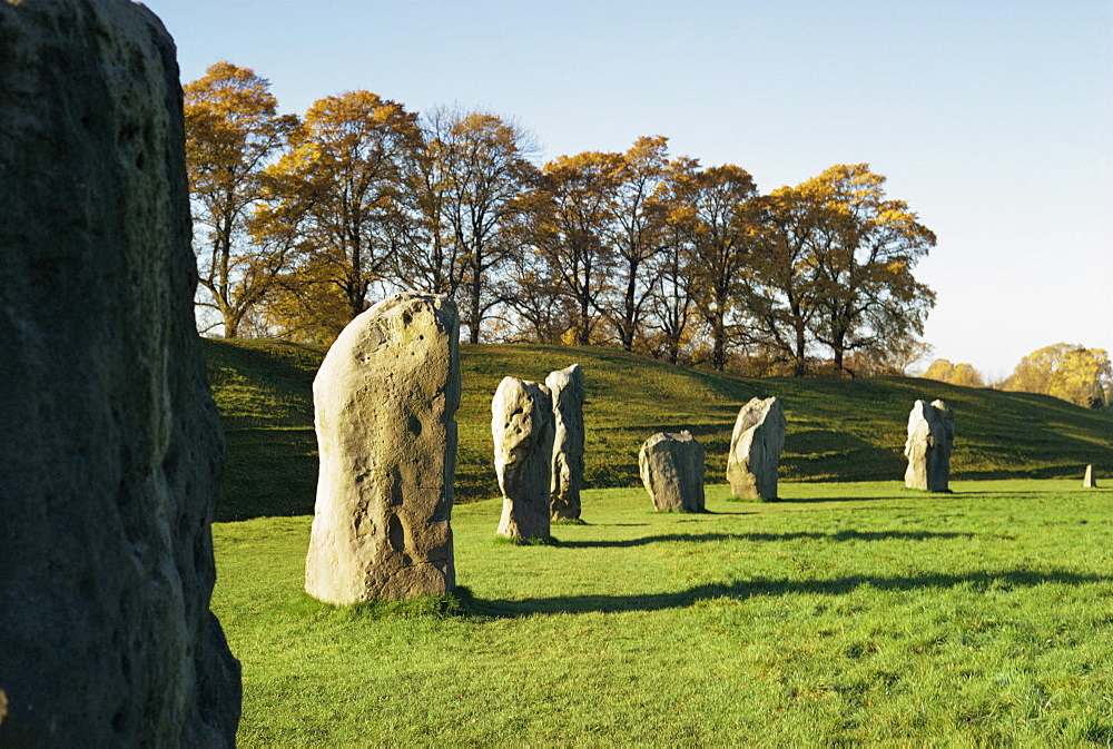 Avebury Stone Circle, UNESCO World Heritage Site, Wiltshire, England, United Kingdom, Europe