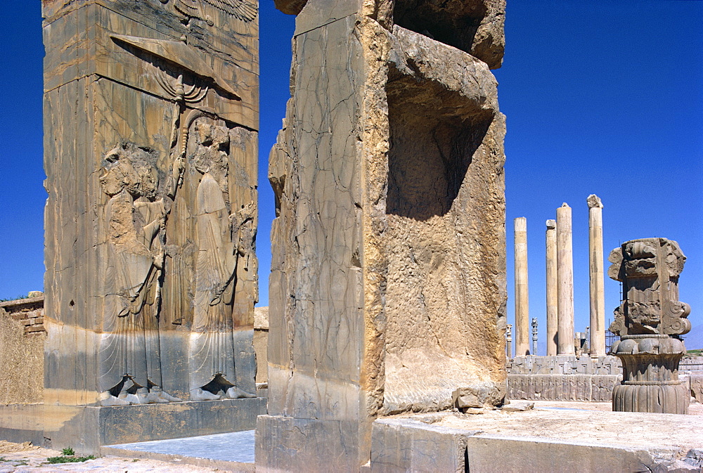 Persepolis, UNESCO World Heritage Site, Iran, Middle East - 1-956