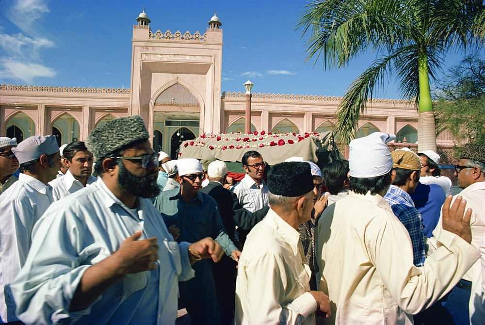 Funeral, Karachi, Pakistan, Asia - 1-9595