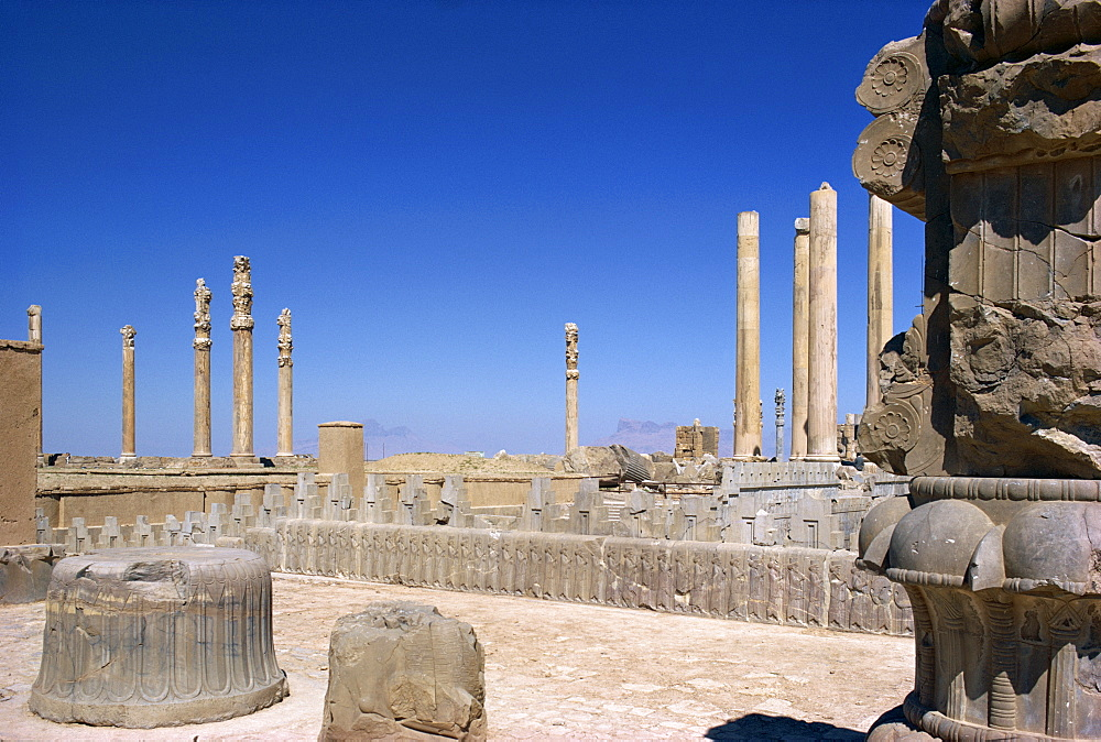 Persepolis, UNESCO World Heritage Site, Iran, Middle East - 1-982