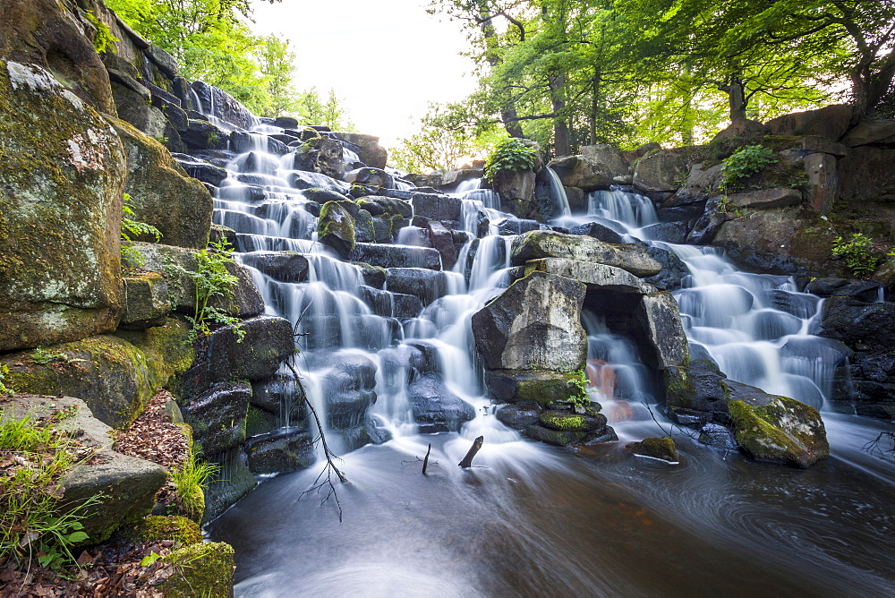 The Cascades, Virginia Water, Surrey, England, UK, Europe