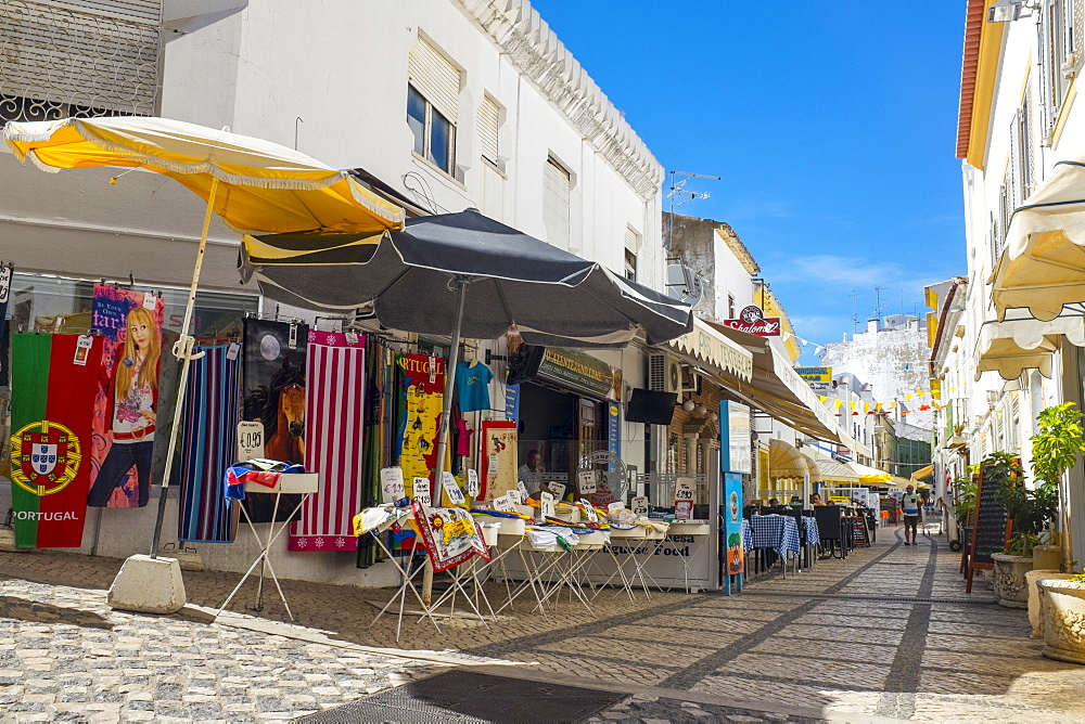 Markets in the Old Town, Albufeira, Algarve, Portugal, Europe - 10-411