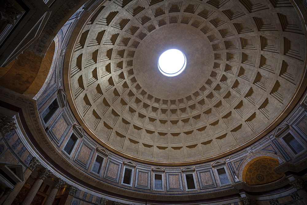 Pantheon, UNESCO World Heritage Site, Rome, Lazio, Italy, Europe - 10-455