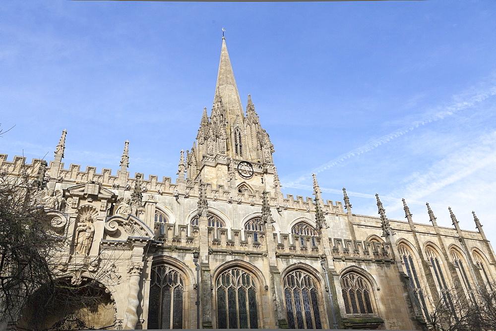 University Church of St. Mary the Virgin, Oxford, Oxfordshire, England, United Kingdom, Europe