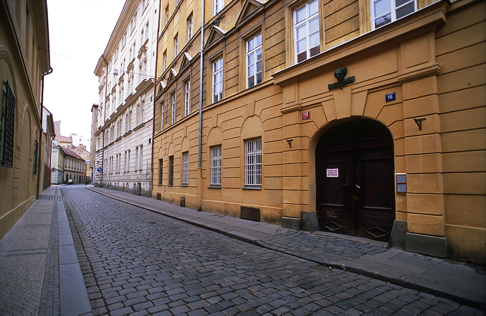 Empty streets of Prague, Czech Republic - 1024-263