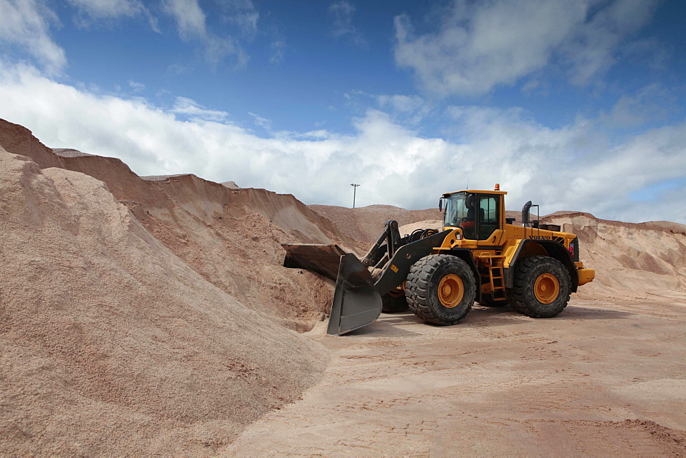 Winsford, a small village in Cheshire with a mine that supplies nearly 60% of the country's grit salt.. .