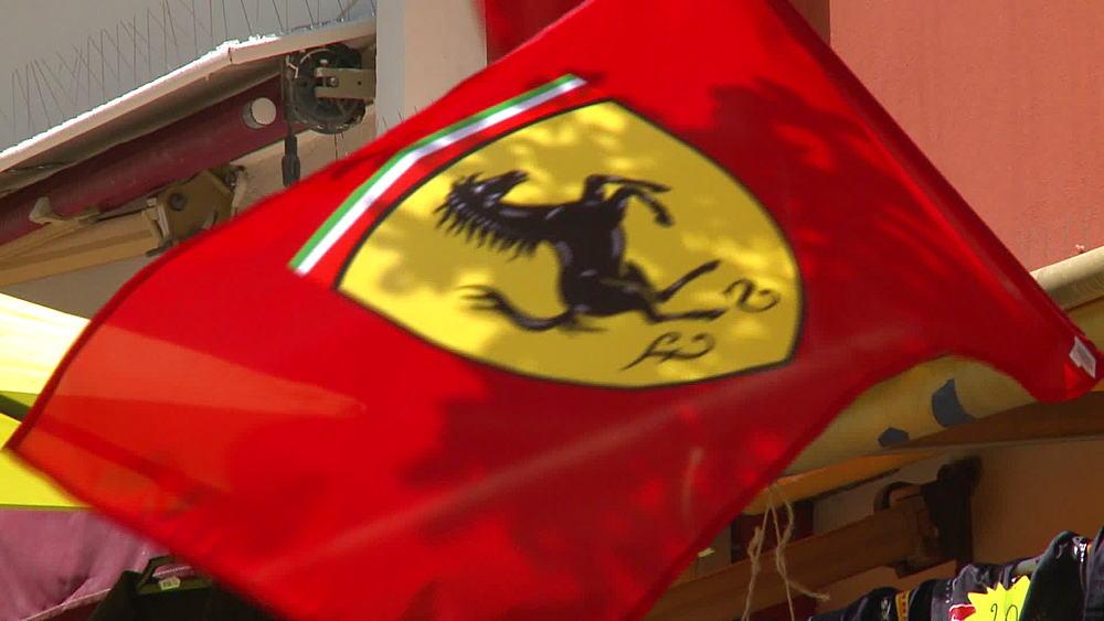 Ferrari flag - 1031-2168