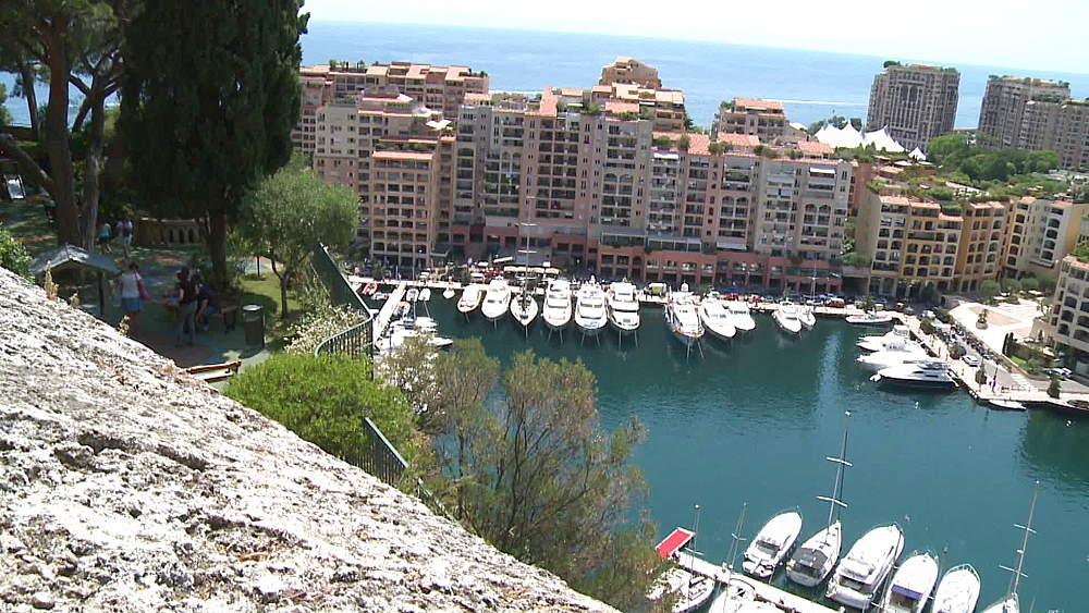top shot of harbour - 1031-2169